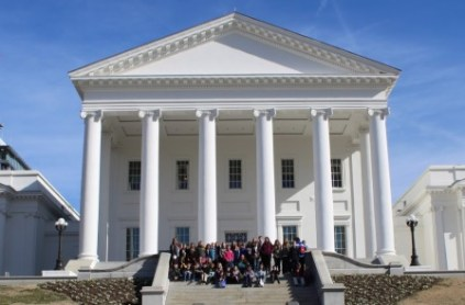 SCA Student Reps Visit General Assembly in Richmond