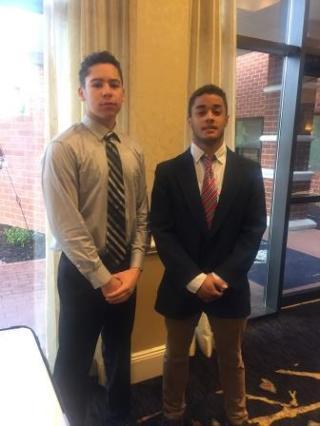 Isaiah Breckenridge and Zachary Gibson