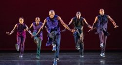 Alvin Ailey American Dance Theater Debuts 'Lazarus' To Celebrate 60th Anniversary