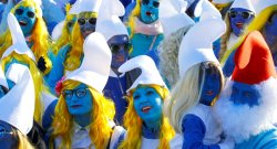 German Town Sees A Smurf Invasion, As Thousands Gather To Break World Record