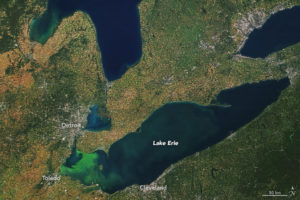 Lake Erie - important lakes of the world