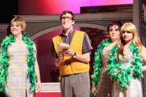 """A scene from the Players' recent production of """"Little Shop of Horrors."""" Photo by Ashley Sanchez"""