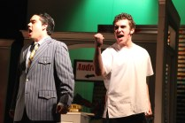 "A scene from the Players' recent production of ""Little Shop of Horrors."" Photo by Ashley Sanchez"