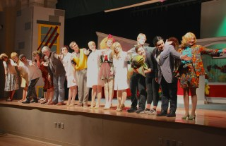 The cast takes their curtain call at the end of the show. Photo by Ashley Sanchez