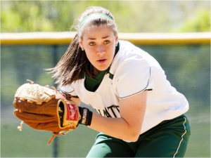 Kate Bowen has led the Jaspers with her arm and her bat. Photo courtesy of gojaspers.com