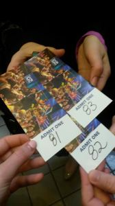 "Tickets for ""The Dr. Oz Show"". Photo by Claire Leaden."