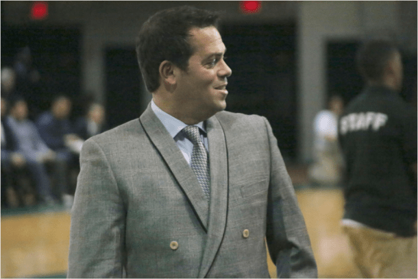 One of the hottest coaching names in college basketball, Steve Masiello will coach the Jaspers again this season. Photo by James O'Connor