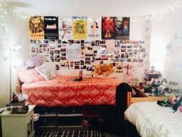 Rachel Salcedo's room in Horan Hall. Photo by Leah Cordova.