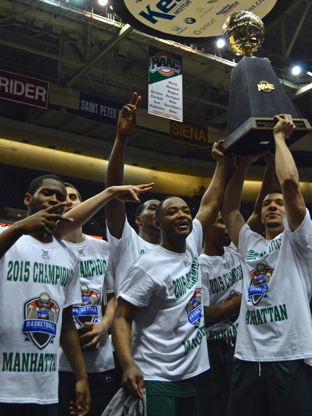 Men's basketball generated $2 million in revenue and expenses in 2016, the most for any team at Manhattan. Kevin Fuhrmann/The Quadrangle