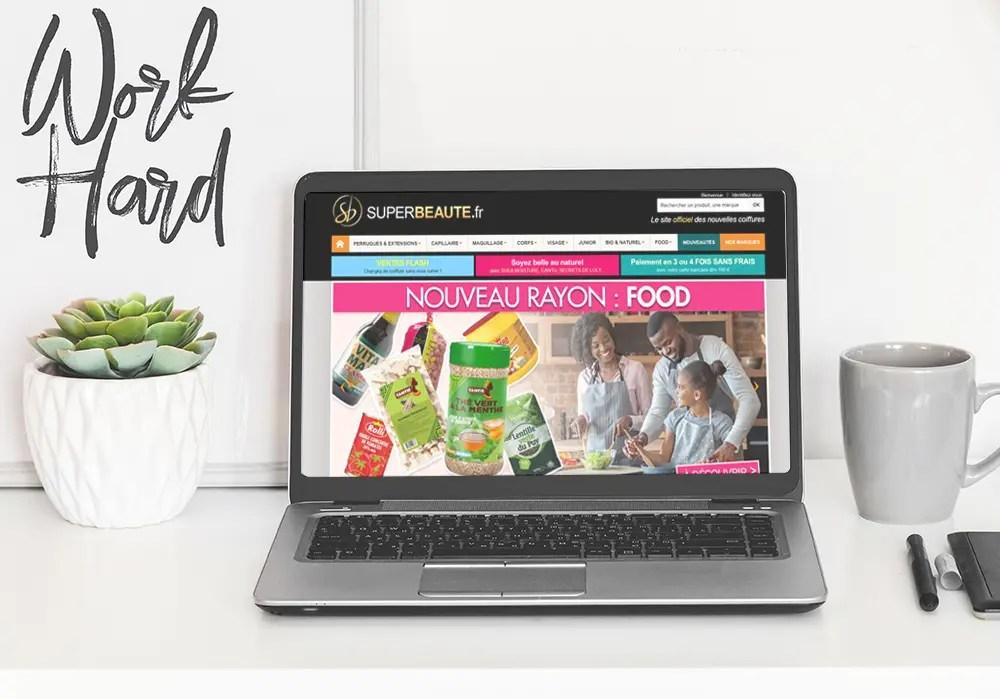 Refont du site web - Superbeaute