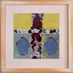 Cross framed limited edition print