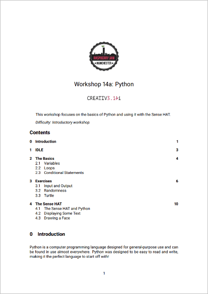 Workshop 14a PDF
