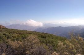 On way toward Stevenson Peak