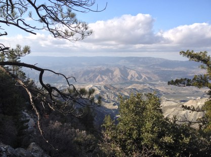 View east to Agua Dulce