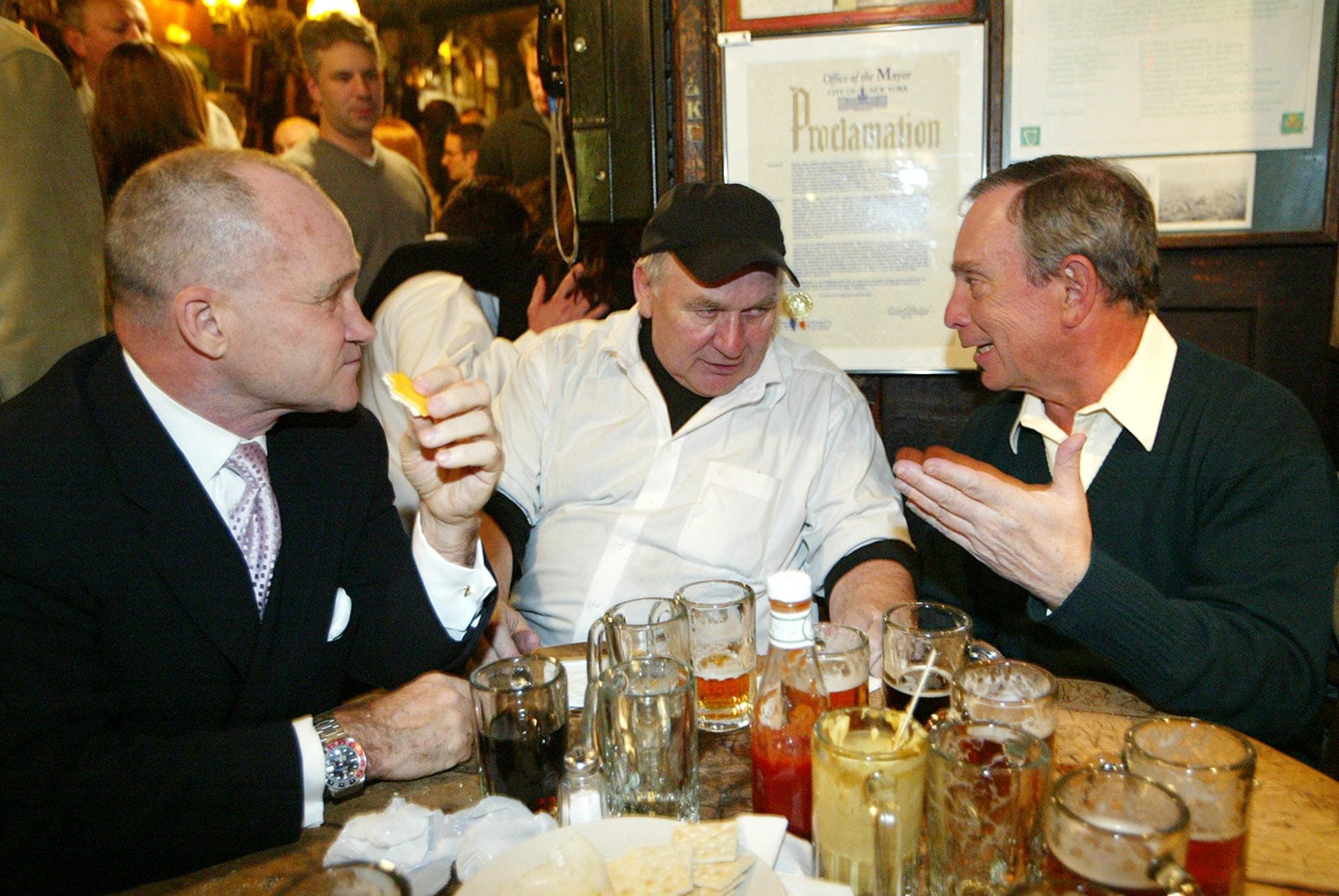 Matty and Bloomberg