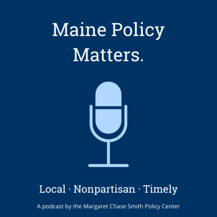 """Image of Microphone with MPM tagline """"local, nonpartisan, timely."""