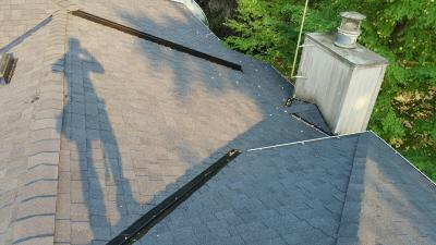 Completed Roof replaced by MCS Roofing