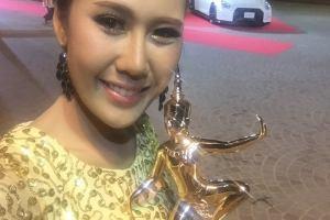 ศิษย์เก่าสื่อสารฯ รับรางวัลนาฏราช ครั้งที่ 7 ประจำปี 2558