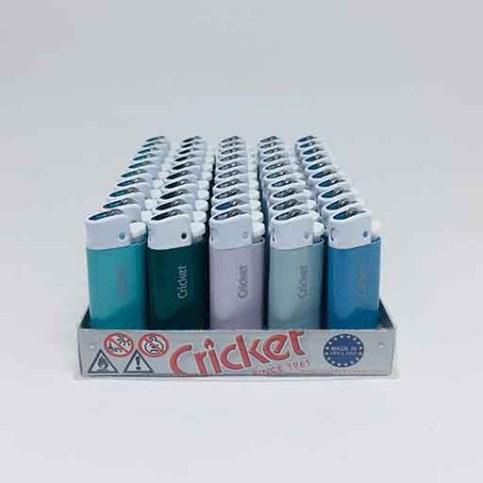 Cricket Kısa Taşlı Pudra Renk Çakmak (50adet)