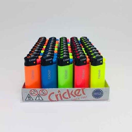 Cricket Kısa Taşlı Fluo Çakmak (50adet)