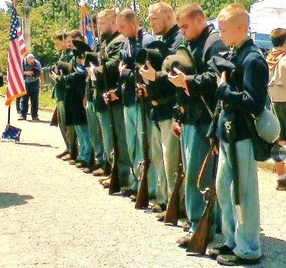 8th Tennessee Re-enactors