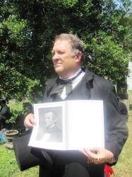 Tim Massey as President Andrew Johnson