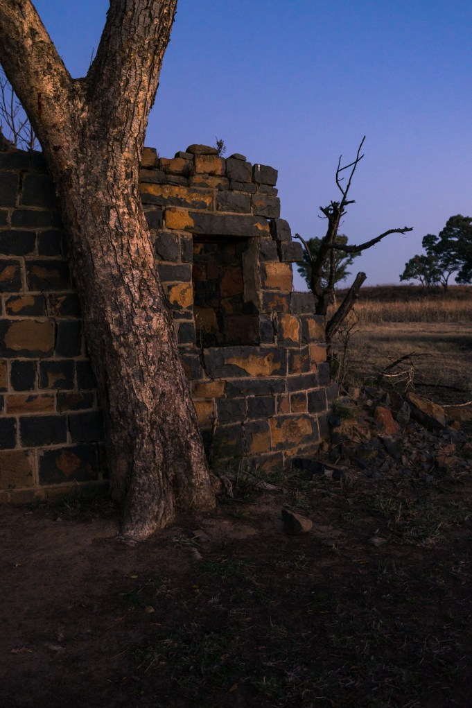Pictures of abandoned homestead on Nambiti Private Game Reserve In South Africa, Africa while on the 2016 Passport to Folk Art: South Africa trip with BJ Adventures