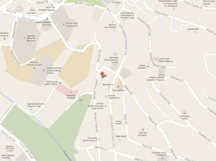Athena Club map