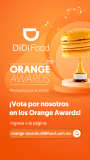 Los Orange Awards llegan para premiar a los restaurantes  favoritos de la Ciudad de México en DiDi Food