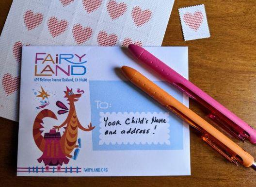 Children's Fairyland stationery by Michael Wertz