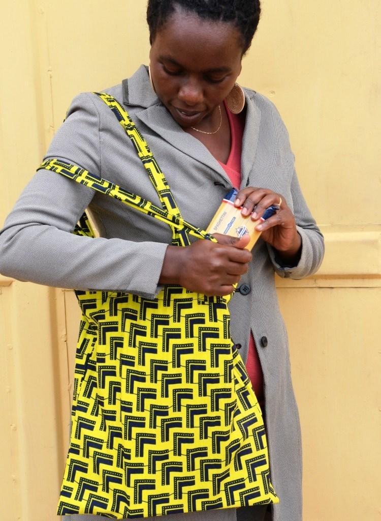 Fabric Zip Shopper