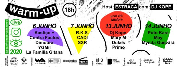 OPA 2020 - regresso da iniciativa de cariz social e artístico de apoio a novos talentos do Hip Hop que lançou nomes como Estraca e Mynda Guevara