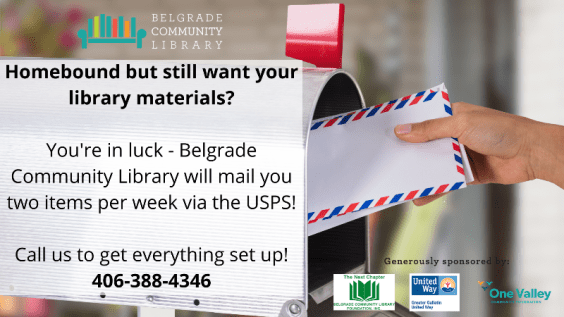 Materials Mailing Service Available