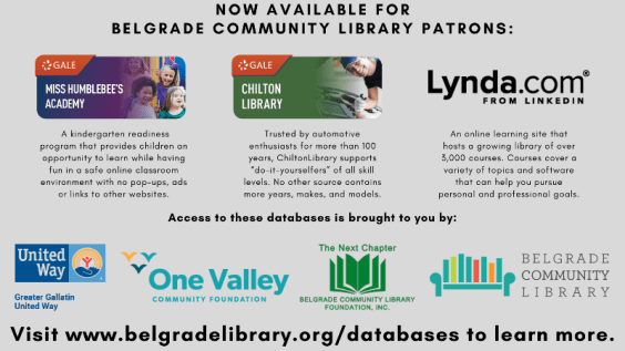 Databases Available for BCL Patrons
