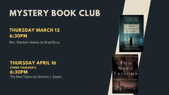 Mystery Book Club Picks
