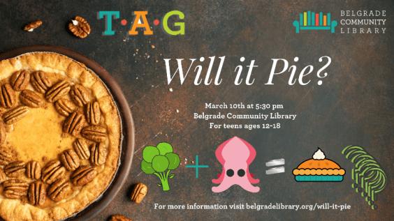 Will it Pie Teen Program