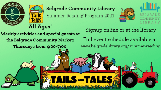 Summer Reading Program is open for all ages!