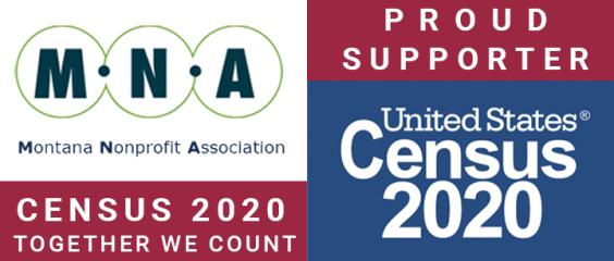Montana Nonprofit Association Census Supporter Badge