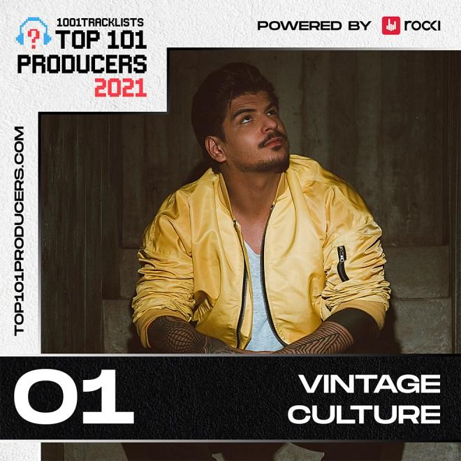 Vintage Culture é o artista de música eletrônica mais tocado do mundo em 2021