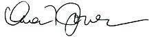 Karen Jones Signature