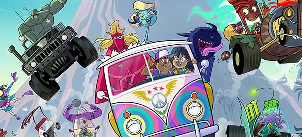 Premiere op Cartoon Network; Monster Beach!