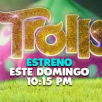 ¡Trolls estreno este domingo por la noche en canal 5! #FelizConTrollsYEL5 @Micanal5.