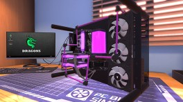 PC Builder Purple Water Cooling