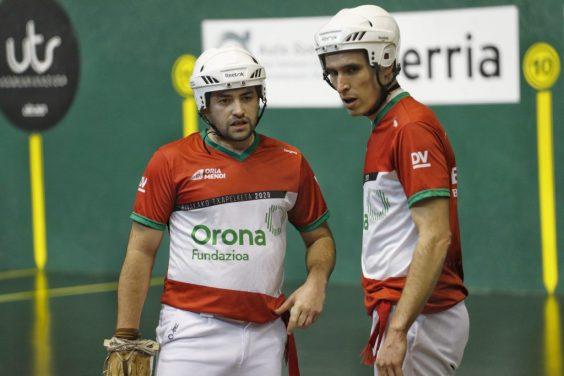 Labaka and Urriza: Remonte Parejas Champions. Photo: manista.com
