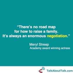 Meryl Streep negotiation quote