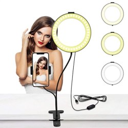 ring light for online meetings