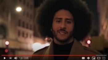 Nike commercial olin Kaepernick