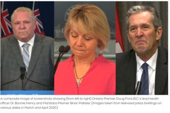 Emotional expressions of politicians