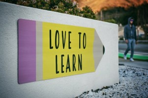 Love to learn, upskill image unsplash @ timmossholder