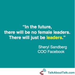 leadership quote sheryl sandberg